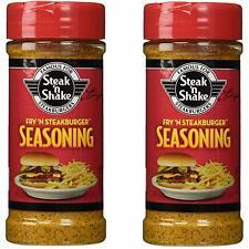 Steak 'N Shake Fry 'N Steakburger Seasoning, 7.48 oz (Pack of 2)
