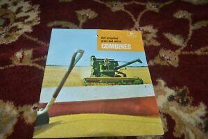 John Deere 45 55 95 105 Combine For 1967 Brochure FCCA