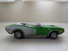 JOHNNY LIGHTNING - MOPAR OR NO CAR - 1971 PLYMOUTH CUDA 383 CONVERTIBLE  (LOOSE)