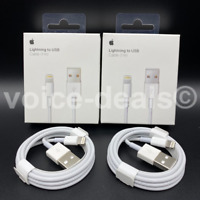 Genuine iPhone Lightning To USB Cable Apple Speedy Data Sync Lead 8 7 6S X XS SE