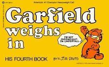 Garfield Weighs In paperback book 4 Jim Davis FREE SHIPPING comic cat strip