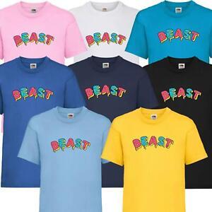 New Kids Boys Girls Mr Beast Yum Yum T-Shirt YouTuber Merch Inspired Fan Tee Top
