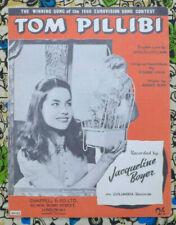 Tom Pillibi - Andre Popp & Pierre Cour/Marcel Stellman. 1960 Eurovision/Boyer