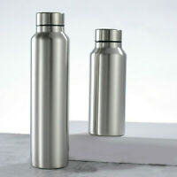 0.5-1L Stainless Steel Water Drink Bottles Cup Travel Sport Camping Cycling