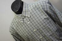 32890 Mens Brooks Brothers 346 Long Sleeve Plaid Button Up Dress Shirt Sz Large