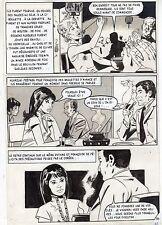 LA LOUVE WEEKEND A PEKIN  (RENAUD) PLANCHE ORIGINALE AREDIT PAGE 34