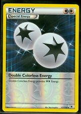 Pokemon DOUBLE COLORLESS ENERGY 111/119 - XY Phantom Forces Rev Holo - MINT