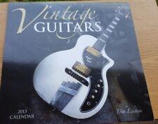 Guitar Calendar Pictures Frame Guitars Calender Vintage Guitarists 2013