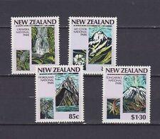 S18082) New Zealand MNH Neu 1987 National Parks 4v