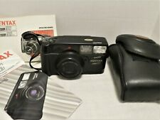 PENTAX ZOOM 90 35mm FILM CAMERA POINT & SHOOT TESTED NEW BATTERIES FITTED