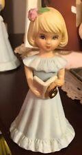 Growing Up Birthday Girls 6-yr. old Blonde Vintage Enesco Figurine