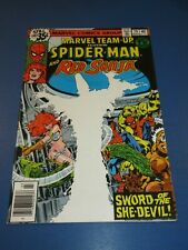 Marvel Team Up #79 Bronze age Spider-man Red Sonja FVF Beauty Wow