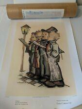 "Set Of 4 Vintage 1978/79 Goebel Hummel Collectors Club Prints 13 x 18"""