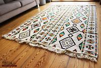 Carpet 135x200 cm,4,5' x6,5',Area Rug oriental,alfombra,Kelim,tapete,ковер1-4-43