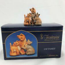 """Fontanini """"Cat Family� By Roman Inc. 51535 Italy 2004"""