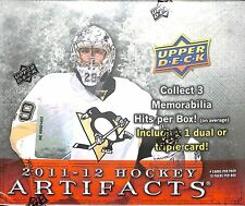 2011-12 Upper Deck Artifacts Hockey SEALED HOBBY BOX 10 packs per box