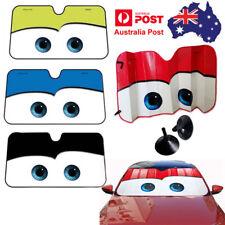 Floodable Big Eye Cute Cars Front Auto Car Windshield Sun Sun Shade Visor Cover
