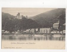 Schloss Stolzenfels & Capellen Vintage U/B Postcard Germany 084b