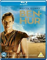 Ben-Hur - 3-Disc Edition [Blu-ray] [1959] [Region Free] [DVD][Region 2]
