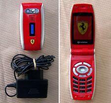 Sharp GX-25 Ferrari Edition Flip Mobile Phone GOOD CONDITION. (no i897 z8)