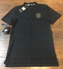 Nike Soccer England Team Polo Shirt Jersey Mens S 942990-010 Exclusive RARE