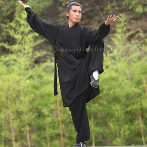 25 Colors Taoist Robe Style Tai chi Uniform Kung fu Martial arts Wing Chun Suit