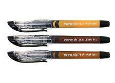 XENO Fine Fiber Brush Pen Liquid Type Caligraphy 3Pcs SET Large / Medium / Small