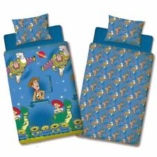 OFFICIAL TOY STORY FRIENDS SINGLE DUVET COVER SET EASY IRON BEDDING REVERSIBLE