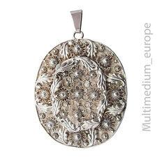Trachten Silber Anhänger Handarbeit filigran silver pendant handwork filigree
