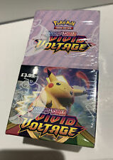 POKEMON Sword And Shield VIVID VOLTAGE Box 185 Trading Cards Brand NEW Sealed