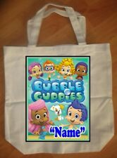 """Bubble Guppies Green"" Personalized Tote Bag - NEW"