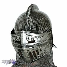 Adults Medieval Knight King LARP Helmet Hat Armour Fancy Dress Outfit Accessory
