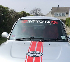 Amazing  Windscreen Windshield Car Sticker Decal For Toyota (no background)