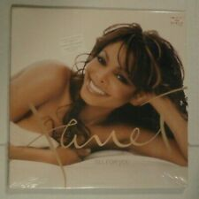 New listing FACTORY*SEALED* JANET JACKSON ALL FOR YOU 2X LP VINYL RECORD 2001 ORIG 1ST PRESS