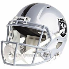 OAKLAND RAIDERS RIDDELL SPEED NFL FULL SIZE REPLICA FOOTBALL HELMET