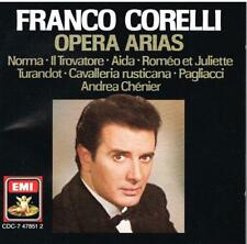 Franco Corelli: Arie Da Opera - CD