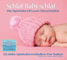 Schlaf, Baby schlaf...Spieluhr Melodien CD Einschlafen NEU Mädchen Edition