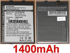 Battery 1400mAh type BP-XDA2-12, PH17A153758 For HTC Andes