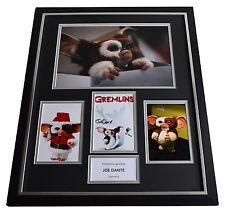 Joe Dante SIGNED Framed Photo Autograph Huge display Gremlins Film AFTAL & COA