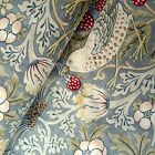 Strawberry Thief Fabric from William Morris by Sandersons 150cm wide, 2 colours