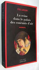 LA REINE DANS LE PALAIS DES COURANTS D´AIR - STIEG LARSSON - EN FRANCES