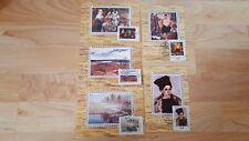 Lot of 5 Vintage USSR Russia Postcards
