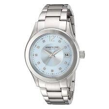 Kenneth Cole 10030803 Women's Silver Dial Steel Bracelet Watch