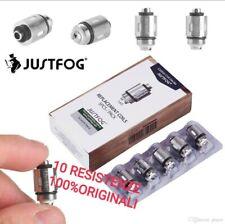 JUSTFOG RESISTENZE COIL Q16 P16A Q14 C14 1,6 OHM  per Atomizzatore pro QPOD