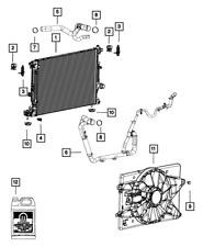 Genuine MOPAR Radiator Inlet Hose 68092560AC