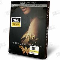 Wonder Woman Steelbook 4K Ultra HD+Blu-ray BestBuy Exclusive SteelBook US Releas