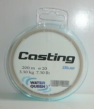 Nylon Water Queen Casting Blue 0.20mm 3.300kg 200m