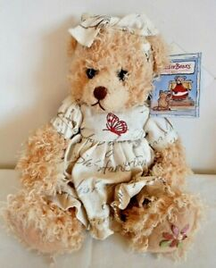 Settler Bear of Australia, Elsie, Robinvale Collection, Label, 30cm Soft Plush