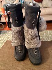 Pika Womens Tall Fur Boots