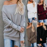 Women Winter Cotton Casual Tops Blouse T-Shirt Ladies Long Batwing Sleeve Blouse